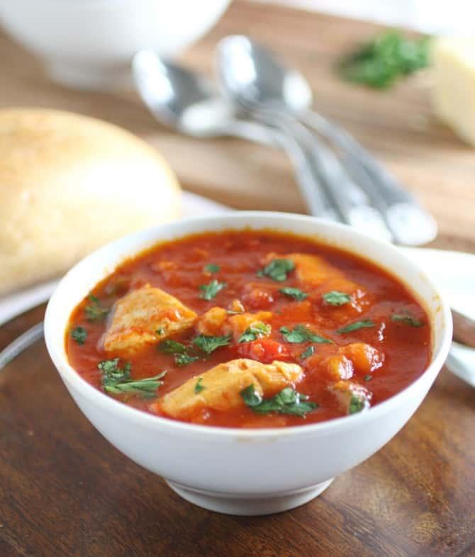 Mediterranean Vegetable & Chicken Stew - For The Feast