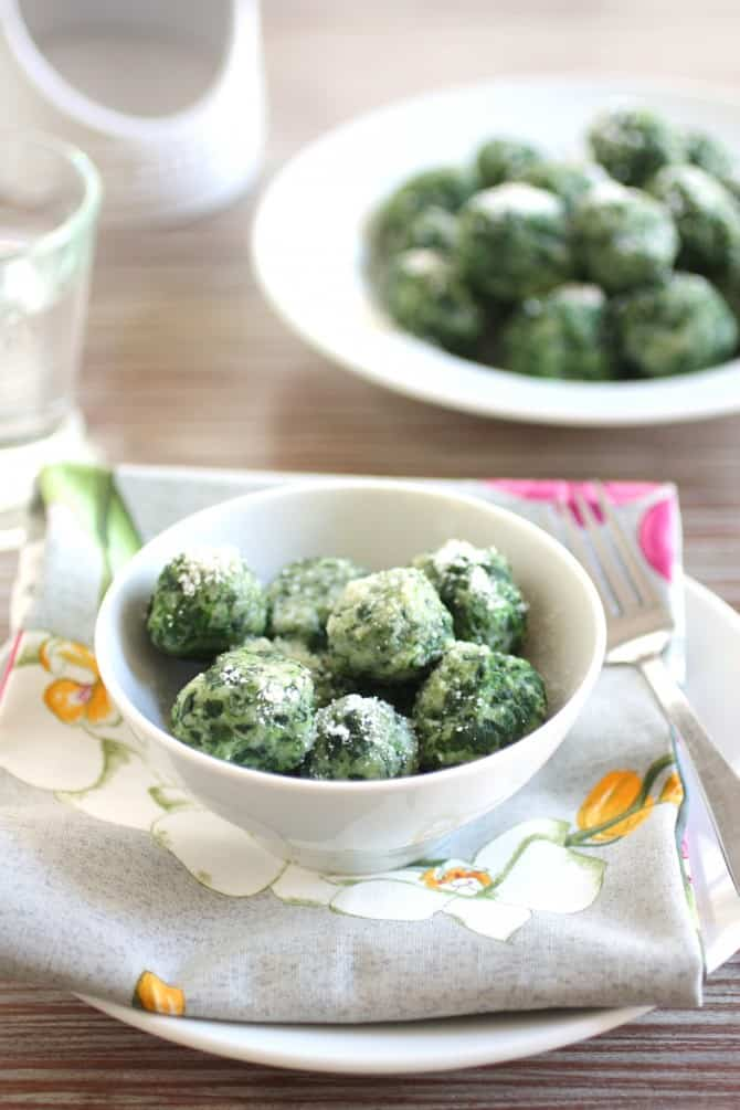 Spinach Gnocchi - For The Feast