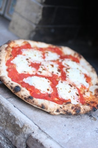 Making Italian Pizza | ForTheFeast.com #pizza