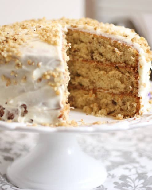 Italian Cream Cake 3 layers
