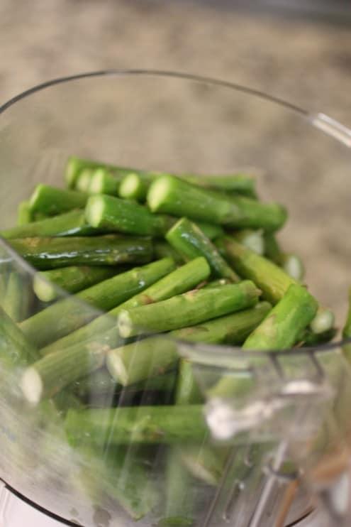 Asparagus to blend