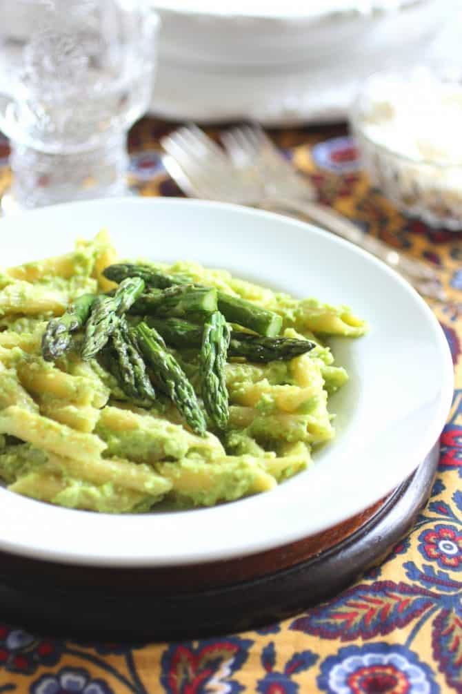 Asparagus And Ramp Pesto Mac N Cheese Recipes — Dishmaps