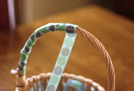 Basket Ribbon Handle
