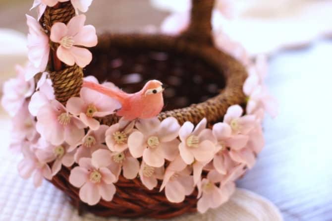 DIY Pink Easter Basket