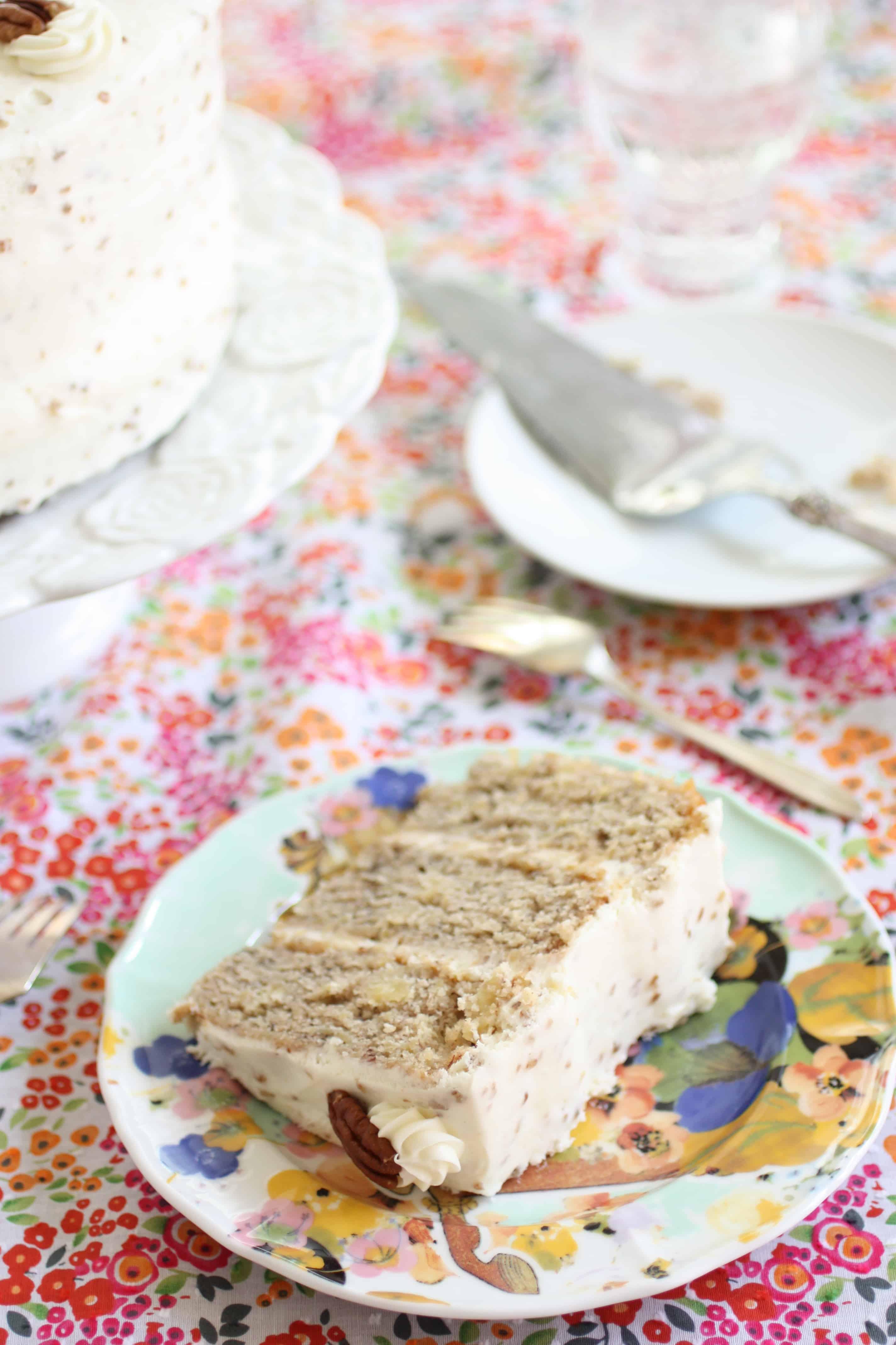 Humming Bird Cake | ForTheFeast.com #Cake