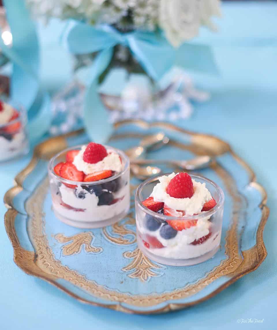Berry Parfaits | www.ForTheFeast.com #dessert #berries