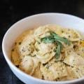 Butternut Squash Ravioli #italian #dinner #pasta #ravioli http://www.forthefeast.com