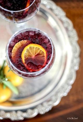 Sangria Cocktail htttp://www.forthefeast.com #sangria