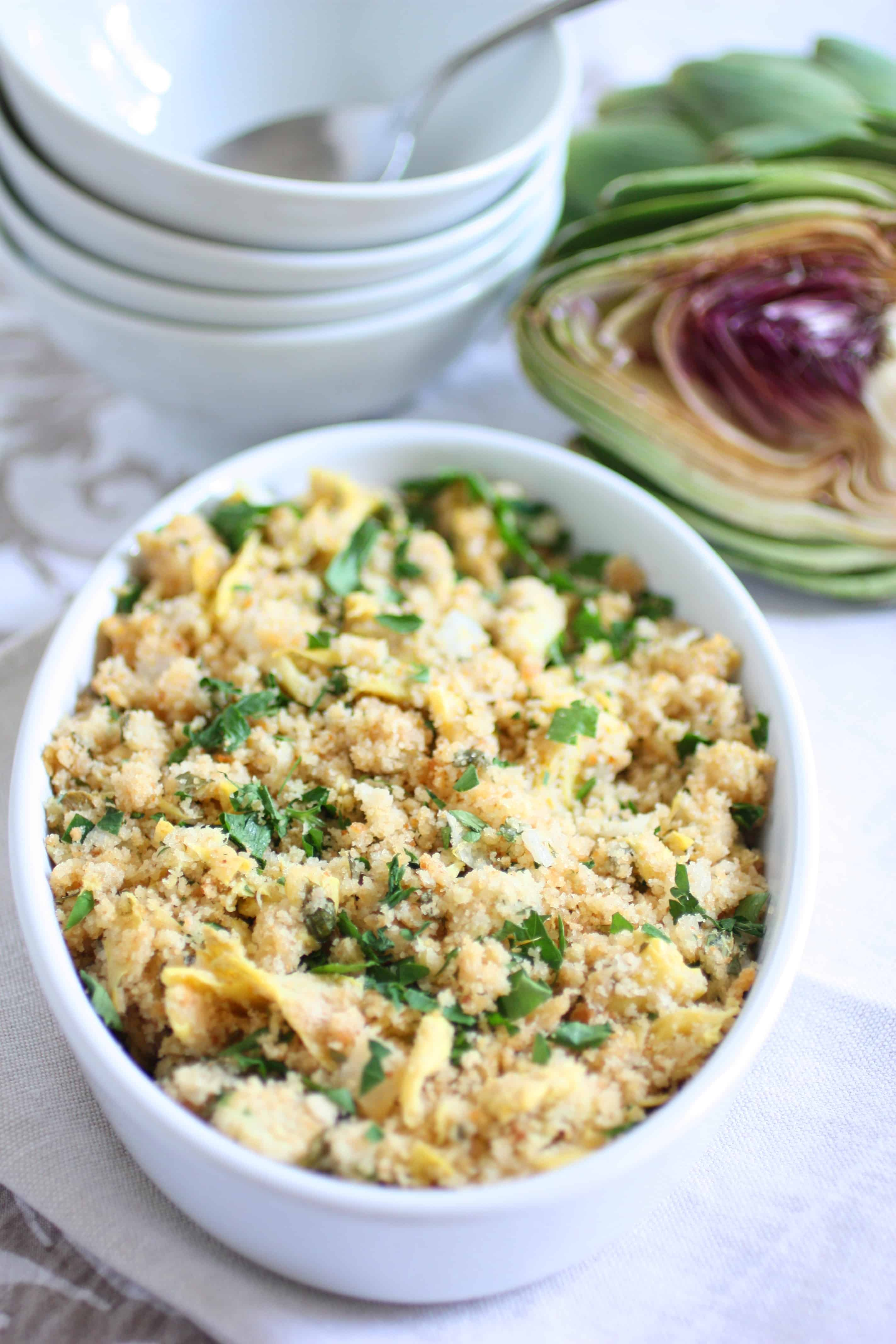 artichoke dish