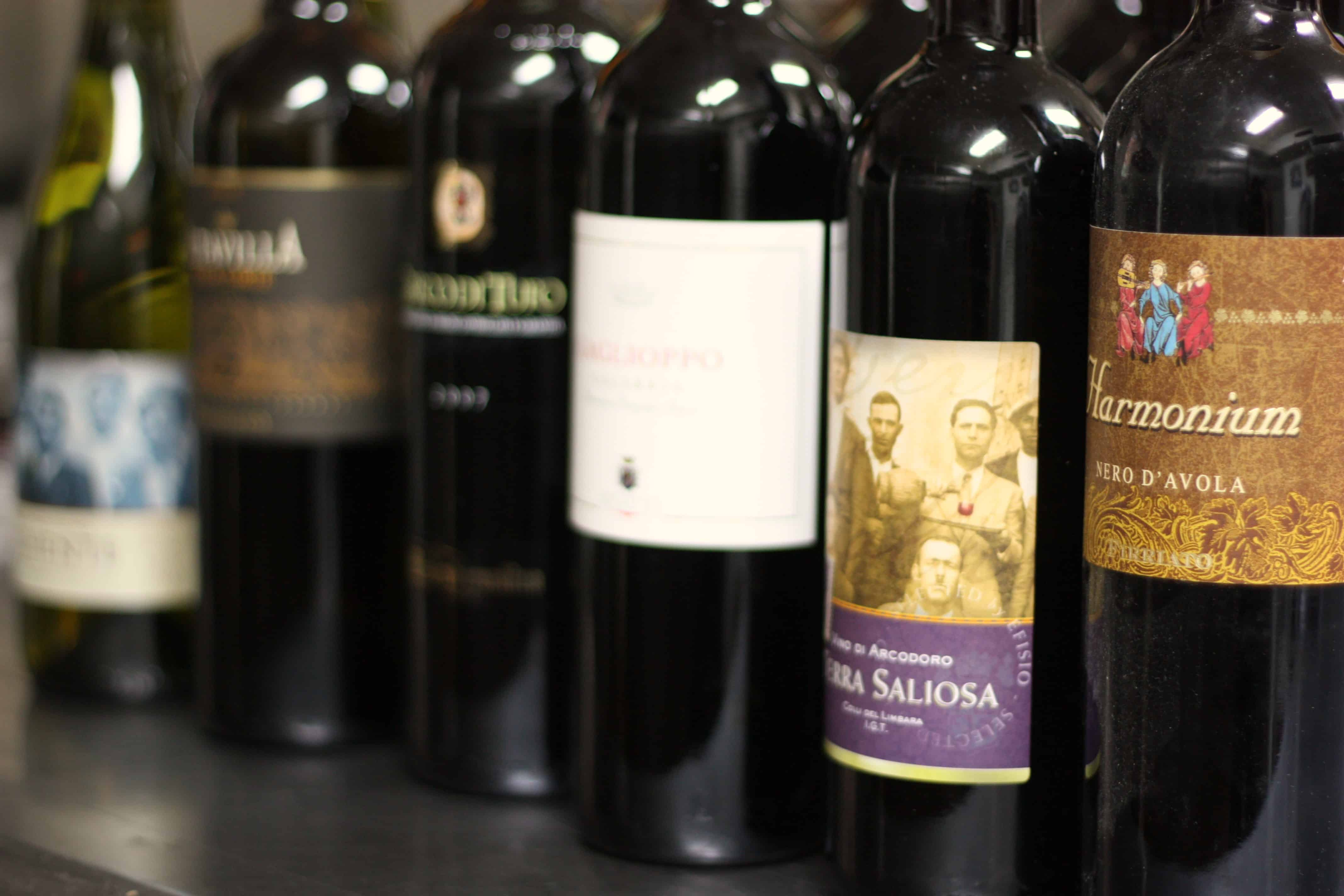 Wine & Food:  Sicilia, Sardegna, and Calabria 1