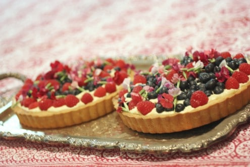 tray of tarts