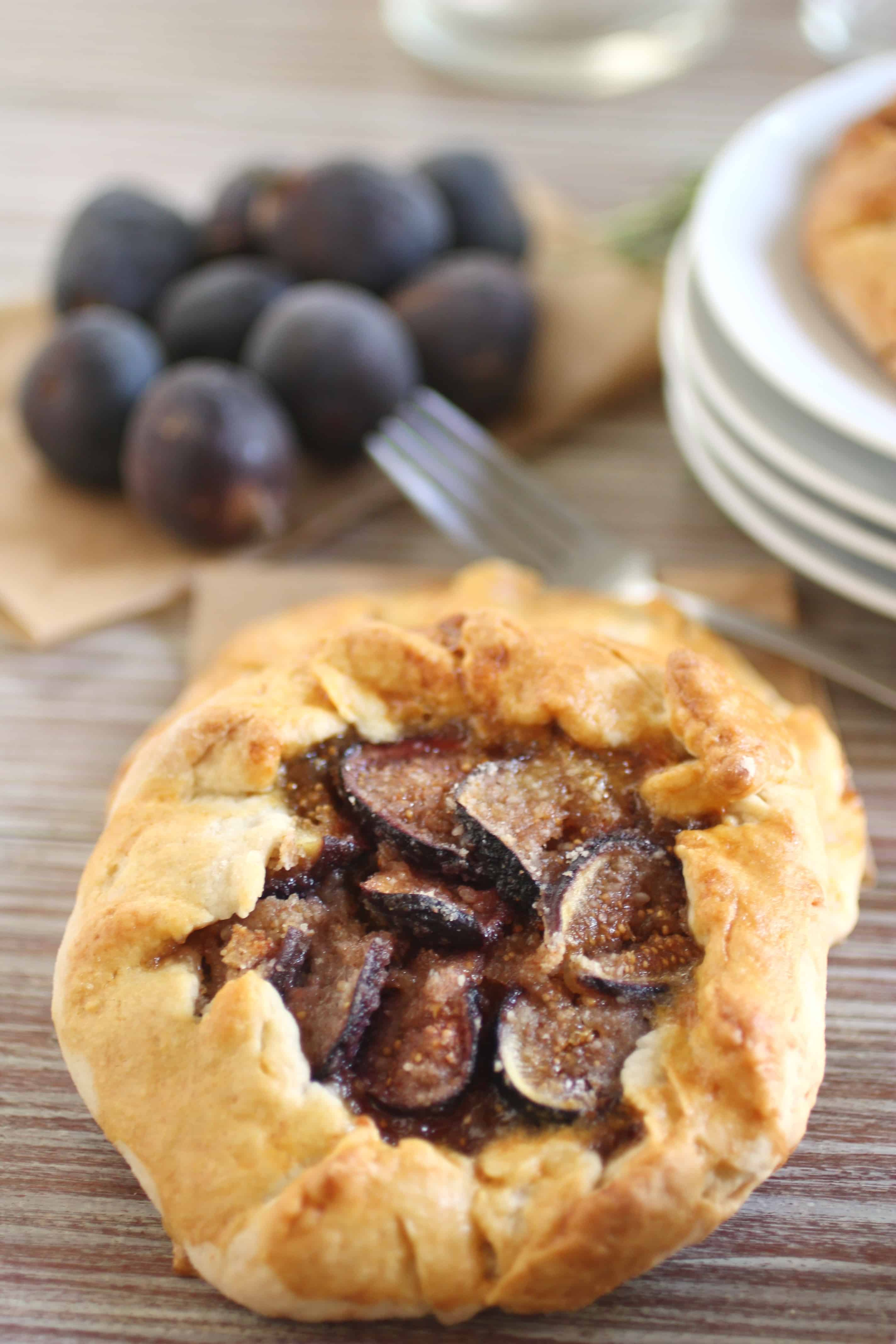 Fig and Almond Galette