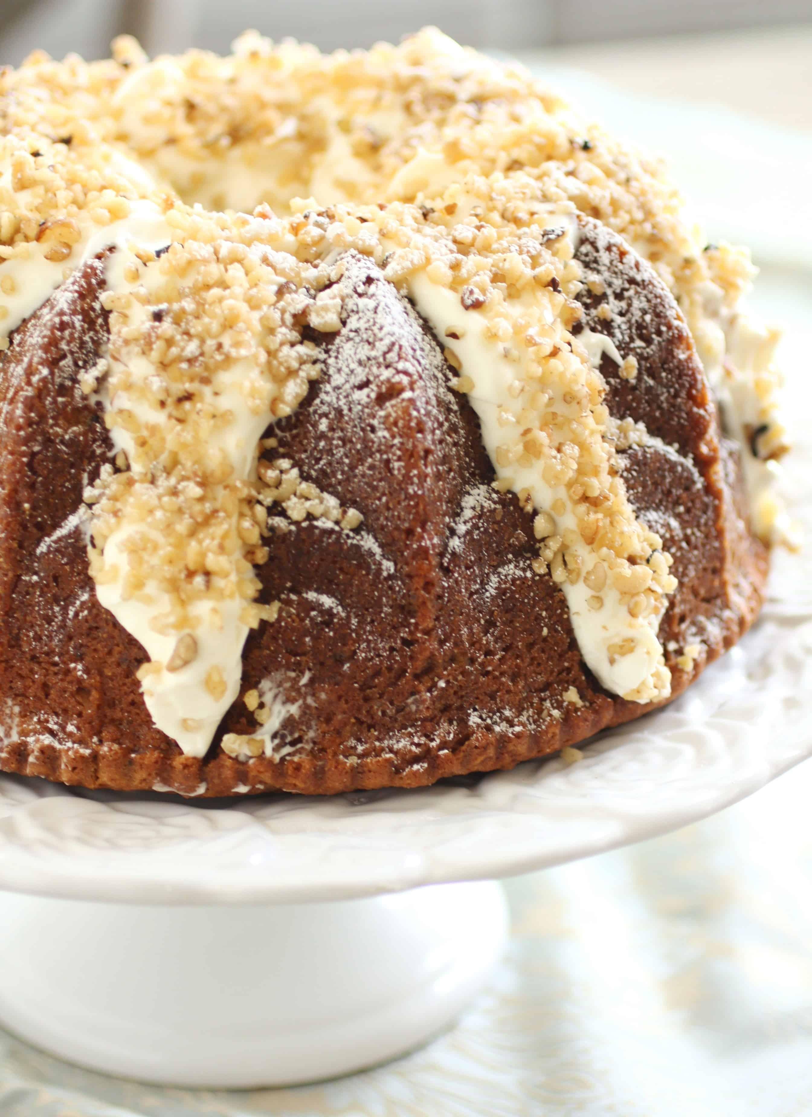 Italian Cream Bundt Cake | ForTheFeast.Com #bundt #dessert