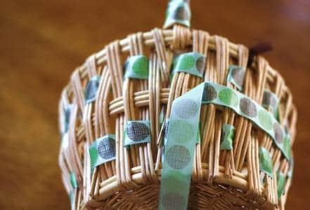 Basket Middle Ribbon