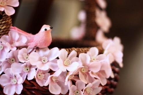 Easter Pink Bird