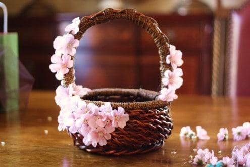 Pink Easter Basket Preperation 2
