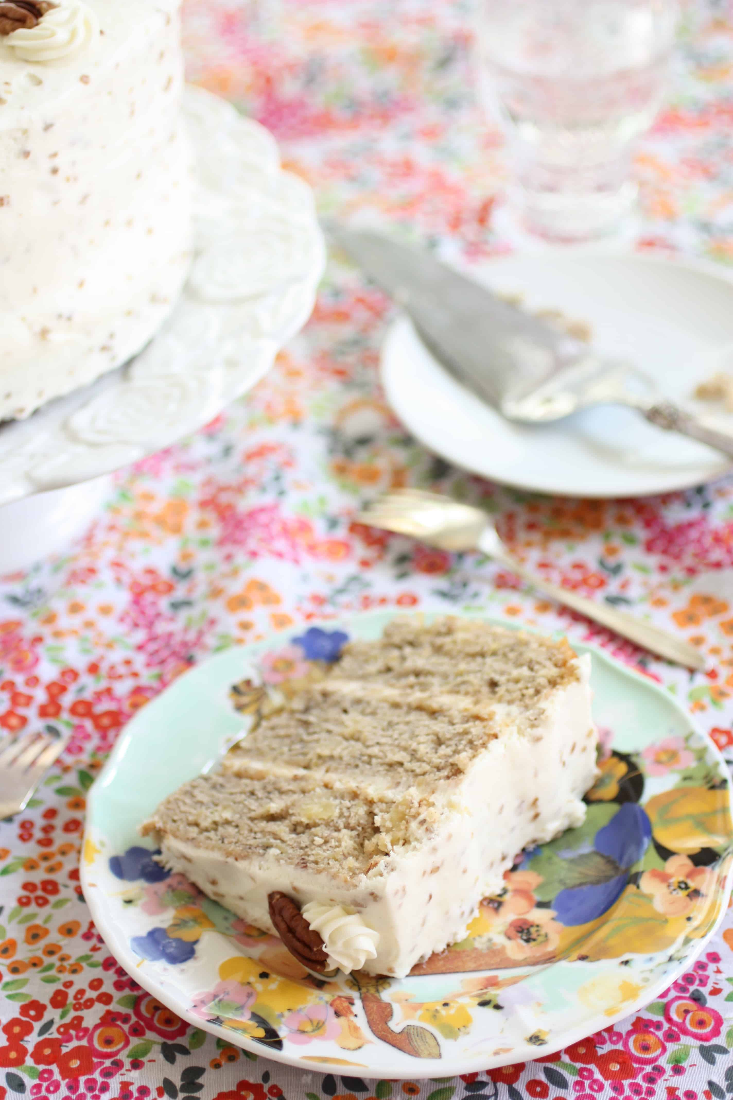 Humming Bird Cake | ForTheFeast.com #Cake