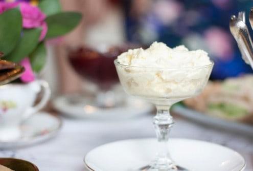 Devonshire Cream Scones and Clotted Cream
