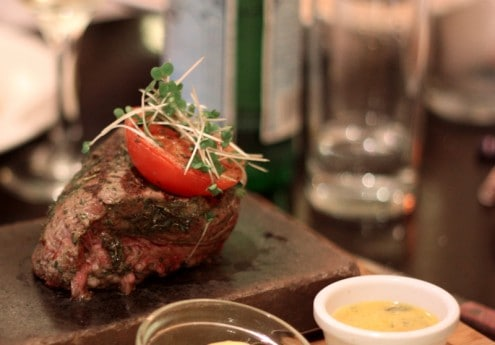 Ireland Steak on a Stone
