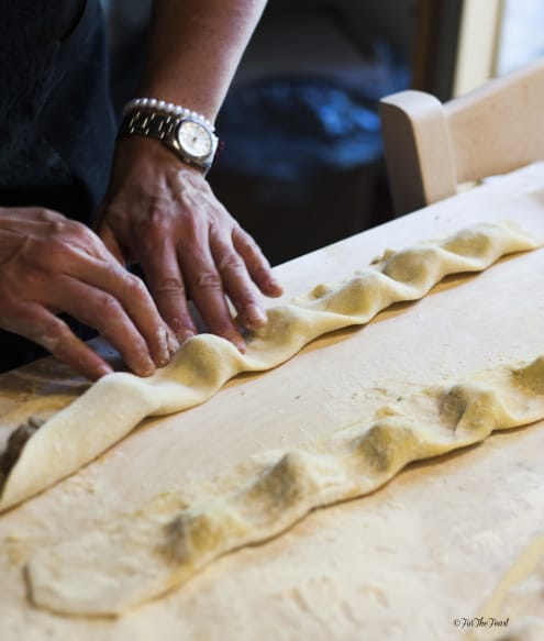 Making Ravioli: For The Feast