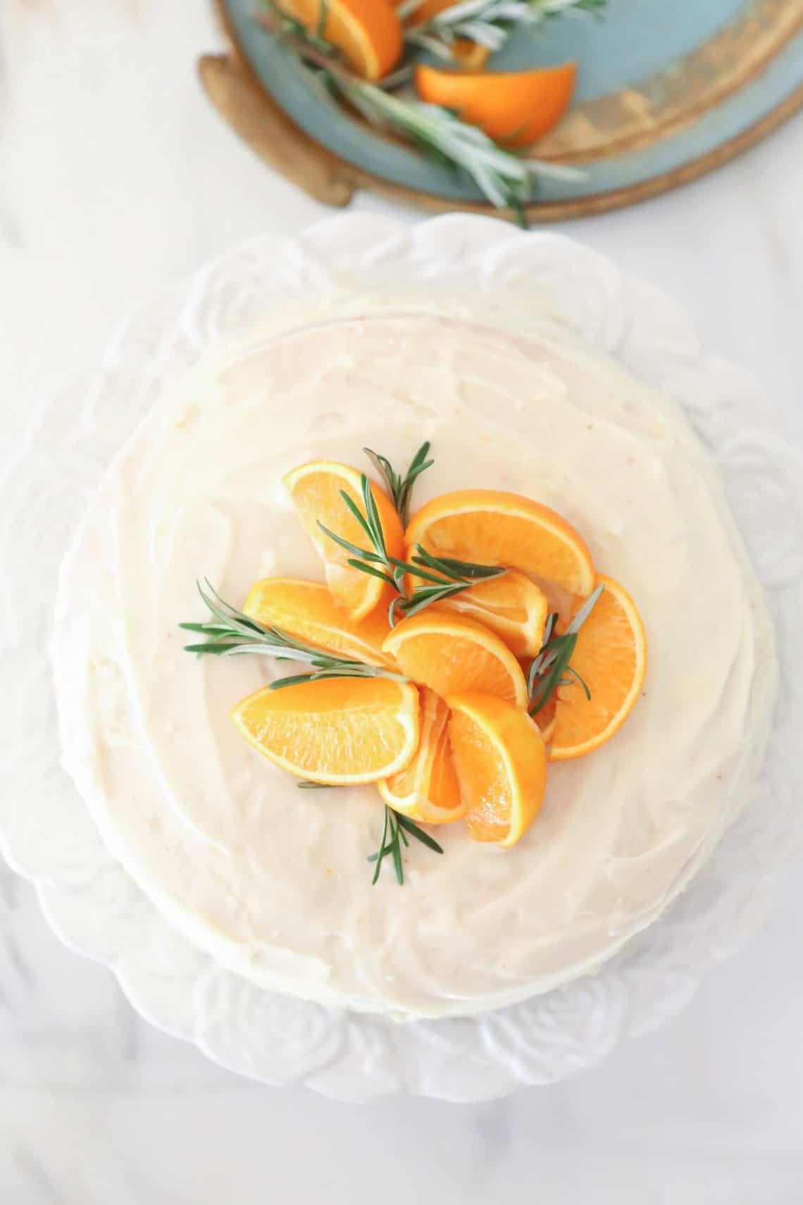 Rosemary Orange Cake 1