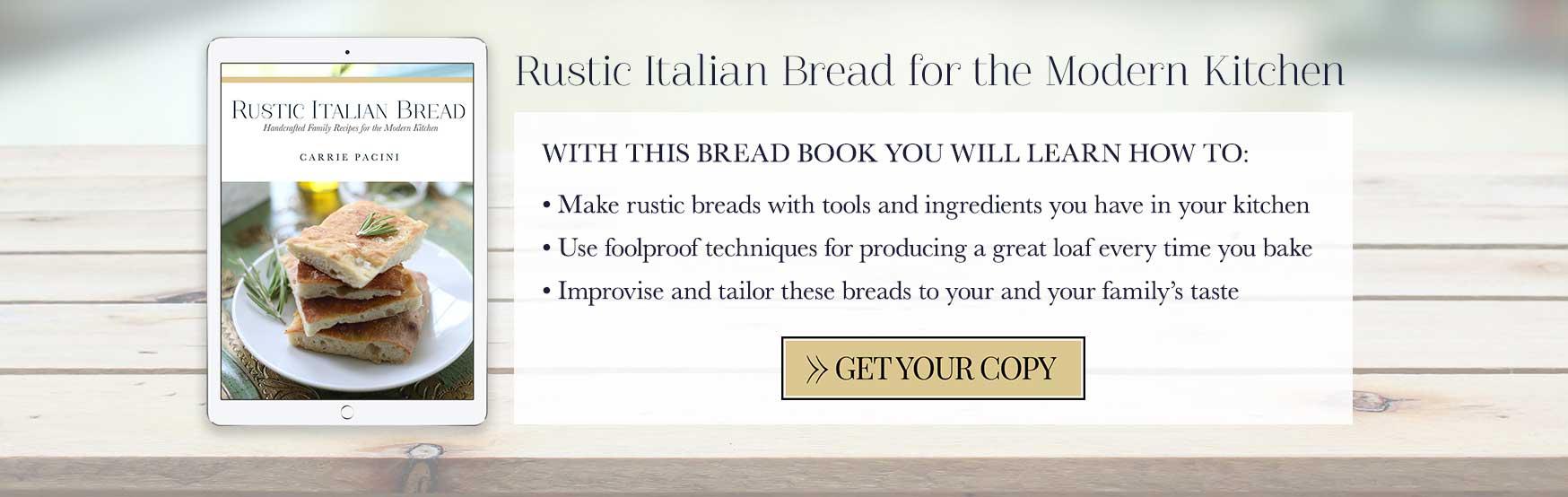 A Simple Recipe for Rustic Italian Bread 1